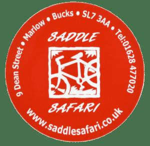 Saddle Safari Bike Label